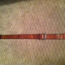 Brown Leather Belt From Madewell Photo