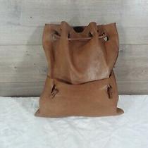 Brown Leather Boho Sling Shoulder Bag Satchel Hobo Tote Photo