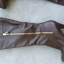 Brown Leather Boots Photo