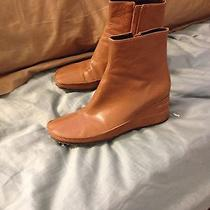 Brown Leather Boots 8.5 Photo