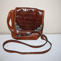 Brown Leather Brighton Purse Individually Numbered Unique Collection Restore Photo