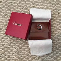 Brown Leather Cartier Wallet  Photo