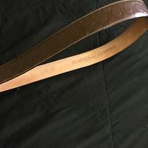 Brown Leather Coach Belt Photo