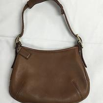 Brown Leather Coach Purse Photo