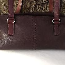 Brown Leather Fossil Handbag Photo
