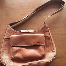 Brown Leather Fossil Purse Photo