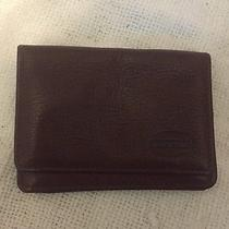 Brown Leather Fossil Wallet Photo