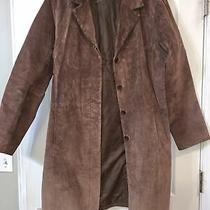 Brown Leather Jacket Womens Large Photo