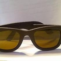 Brown Leather Textured Raybans  Photo