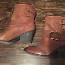 Brown Lucky Brand Booties Photo