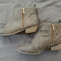 Brown Mossimo Ankle Booties Size 8 Photo