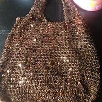 Brown Sequins Purse Photo