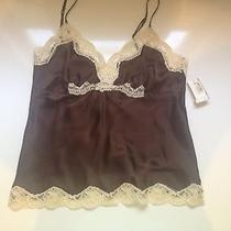 Brown Silk Lace Top Photo