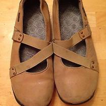 Brown Sketchers Slip on Shoes Photo