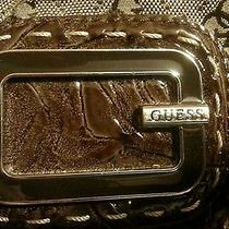 Brown Studded Guess Purse Photo