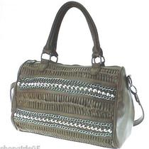 Brown Studded  Purse/handbag Photo