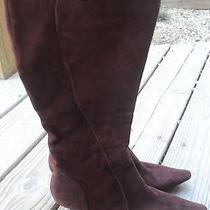 Brown Suede Bandolino Boots Photo