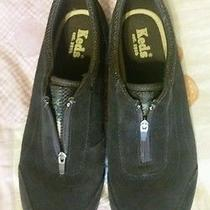 Brown Suede Keds Photo