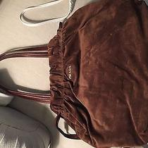 Brown Suede Prada Bag Photo