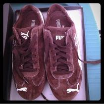 Brown Suede Pumas Photo