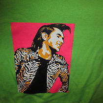 Bryan Ferry Xl Unworn 50/50 T Shirt Great Early Roxy Music Shot Photo