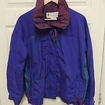 Bugaboo Columbia Women's Purple Shell Jacket Windbreaker Radial Sleeve Large  Photo