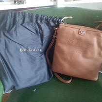 Bulgari Italian Leather Bag Photo