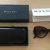 Bulgari Sunglasses Swarovski Cateye Fun Flashy  Flattering Photo