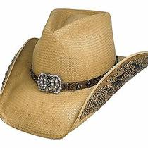 Bullhide Cowgirl Fantasy Platinum Collection Straw Hat - Pecan - Small Photo