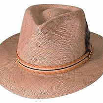 Bullhide Lancaster Resort & Outdoor Straw Hat - Natural - Small Photo