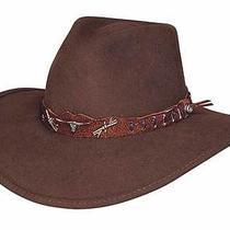 Bullhide Oak Ridge Outdoor Felt Collection Felt Hat - Natural - Large Photo