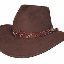 Bullhide Oak Ridge Outdoor Felt Collection Felt Hat - Natural - Medium Photo