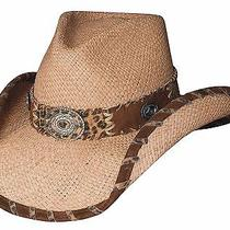 Bullhide on a Good Night Western Straw Hat - Natural - Large Photo