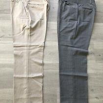 Bundle Versace Classic 2 X Pants Wool Men Size 48 Photo