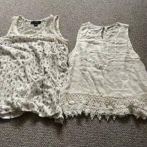 Bundle X2 Vest Cami Sleeveless Tops Size Xs (6-8) Exc Cond Primark Chloe K Photo