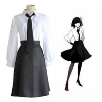 Bungo Stray Dogs Akiko Yosano Cosplay Costume Uniform Halloween Party Anime Photo