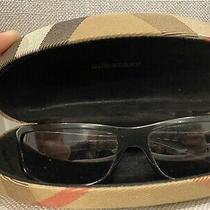 Burberry 125 8439/s Ce4 Bn 60 14 Unisex Black Silver Nova Check Case Sunglasses Photo