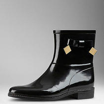 Burberry Ankle Rainboots With Bow Brand New (With Box) Photo