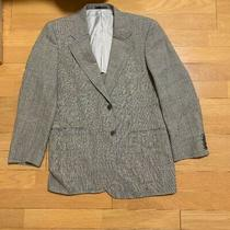 Burberry  Baba Lee's Tailored Jacket G Leeen Yellow Green Made in Jap M ... Photo