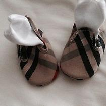 Burberry Baby Bootie Shoes  Photo