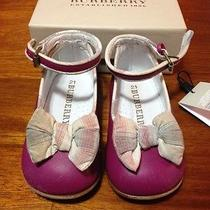 Burberry Baby Shoes Photo