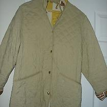Burberry Barn Coat With Horse Trim on Collar and Sleeves Size M Photo