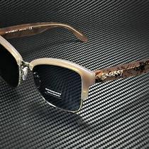 Burberry Be4265 371480 Opal Beige Light Gold Blue 54 Mm Women's Sunglasses Photo