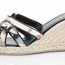 Burberry Beige Sandals Sz 9 629762 Photo