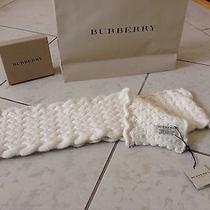 Burberry Beige Scarf Wool 499.00 Photo