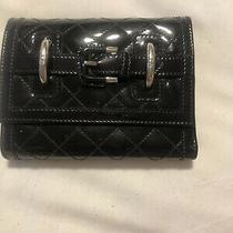 Burberry Black Patent Wallet/clutch  Photo