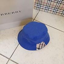 Burberry Blue Hat Photo