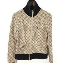 Burberry Blue Label Jacket /38/cotton/beg/check Photo