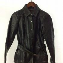 Burberry Blue Label Jacket /38/polyester/blk Photo