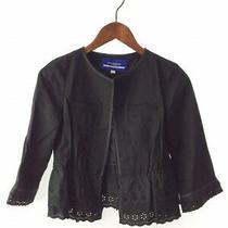 Burberry Blue Label Jacket /38/rayon/blk/plain Photo